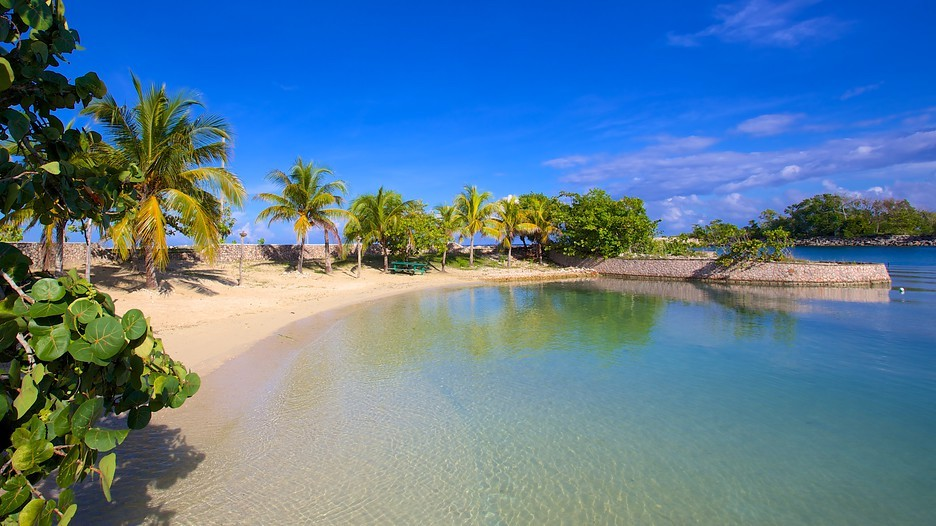 Playa de James Bond en Oracabessa Bay. Jamaica.