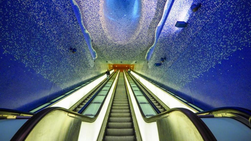 La estación Toledo es una de las más bellas de la línea 1.